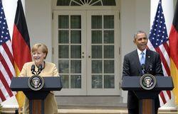 Обама и Меркель потребовали от Москвы немедленной деэскалации в Украине