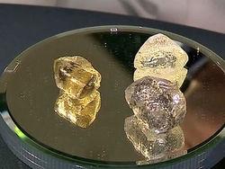 Уникальная находка в Якутии – добыто сразу три крупных алмаза