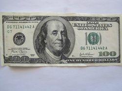Курс доллара США растет к мировым валютам на фоне данных по ВВП США