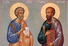 Православные сегодня отмечают день апостолов Петра и Павла