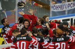 Канада разгромила Россию в финале чемпионата мира по хоккею
