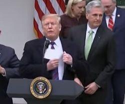 Все для стены: Трамп пригрозил режимом ЧП в США