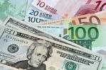 Курс евро растет к доллару