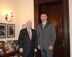 Маккейн и Кличко