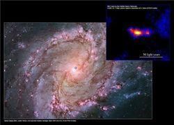Астрономы открыли новую мощную черную дыру небольших размеров