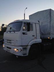 Первые «Камазы» с гумпомощью готовы пересечь украинскую границу