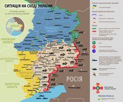 В зоне АТО боевики нарушили режим перемирия обстрелом из минометов