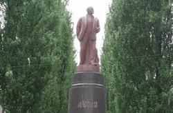 Таким был памятник Ленину в Киеве