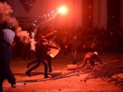 В Киеве резиновой пулей ранен журналист SpilnoTV
