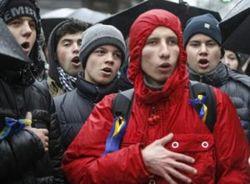 Сотни пассажиров киевского метро неожиданно запели