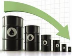 Стоимость нефти Brent упала ниже отметки 53 доллара