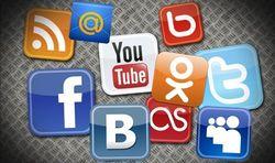 Самые популярные в Интернете социальные сети Беларуси в августе 2014г.