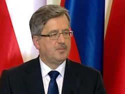 Президент Польши Коморовский: с Януковичем разговаривать нет больше смысла