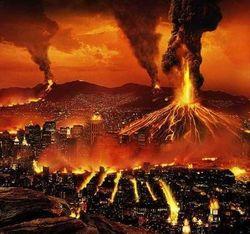 В XXI веке высока вероятность мощного извержения вулкана