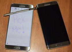 Разработчики Samsung справились с проблемой стилуса а Galaxy Note 5