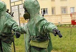 Химическая угроза: в Славянске могут взорвать бочки с серной кислотой