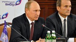 Владмимир Путин и Виктор Медведчук
