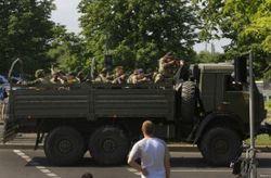 Грузовики с вооруженными террористами ворвались в Украину из РФ – пограничники
