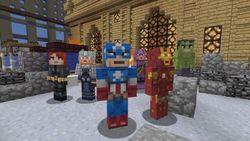 В Minecraft для Xbox 360 появятся герои Marvel