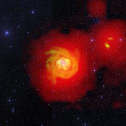 """Ученые зафиксировали """"реку"""" водорода, протекающую в космическом пространстве"""