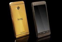 Представлен HTC One в золотистом корпусе. Цена и характеристики
