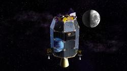 Космический зонд LADEE врезался в Луну