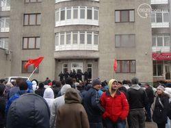 В Енакиево под Донецком сепаратисты захватили горсовет