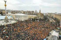Майдан в Киеве – крупнейшая проевропейская акция за всю историю ЕС
