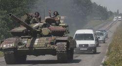 ВР направила в зону АТО парламентские авто на нужды силовиков