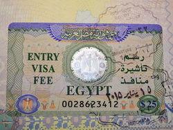 Египет отказался от планов повысить стоимость туристической визы