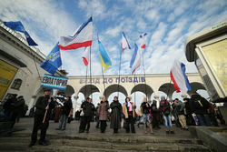 «Антимайдан» Партии регионов в Киеве свернут - причины