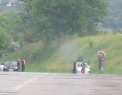 На Харьковщине боевики расстреляли армейскую колонну