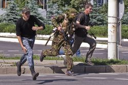 В Донецке идут активные боевые действия - журналист