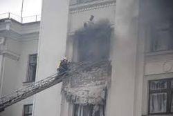 Здание Луганской ОГА расстреляли из ПЗРК неумелые террористы
