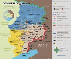 Активность террористов на Донбассе не прекращается