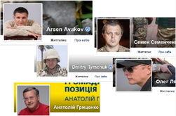 64 популярных аккаунта в Facebook политиков Украины января 2015г.