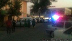 В Самарканде милиция оцепила здание Ucell из-за угрозы бомбы