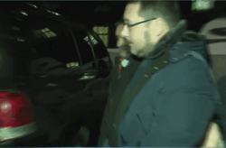 Станислав Ежов в наручниках