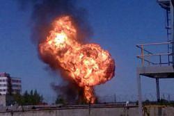 При переливании горючего на АЗС в Махачкале произошел взрыв
