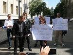 Опозиционеры-мокрушники задержаны в Киеве в День Конституции