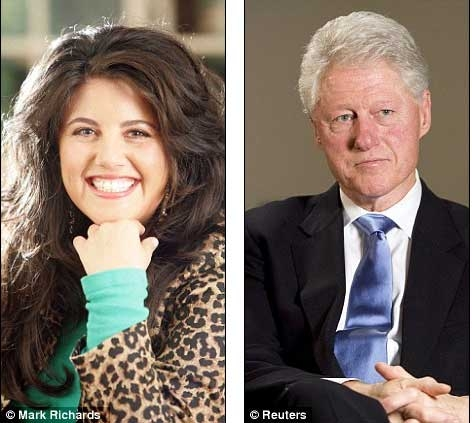 an analysis of the scandal of bill clinton and monica lewinsky