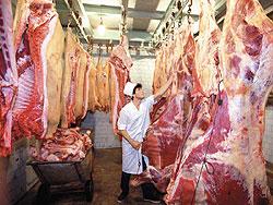 Импорт мяса в Россию продолжает сокращаться