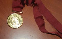 Гимнастка Годунко передаст 100 тысяч гривен, вырученных от продажи медали, силам АТО