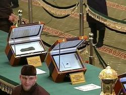 В Махачкалу прибыл самолет с вещами пророка Мухаммеда