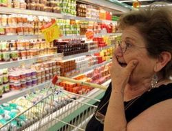 В Крыму быстрыми темпами растут цены на продукты
