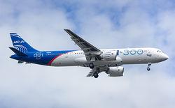Новый российский пассажирский самолет МС-21 взлетел в воздух