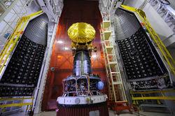 Индия успешно запустила в космос ракету с криогенным двигателем