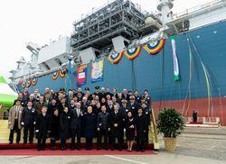 Первый танкер со сжиженным газом в Клайпеде встречали три премьера Балтии
