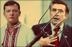 Ляшко против Саакашвили