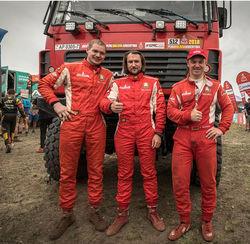 Белорусская команда в тройке лидеров «Дакар-2018»